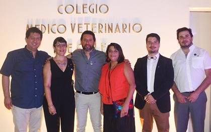 Asume nueva directiva del Colegio Médico Veterinario con llamado a construir todos juntos una mejor profesión