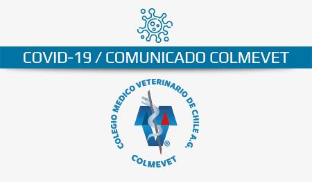 Comunicado COVID-19 / Salvoconducto para Médicos Veterinarios