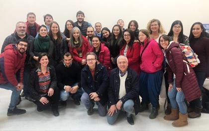 La Gira de la Felicidad hizo escala en Magallanes