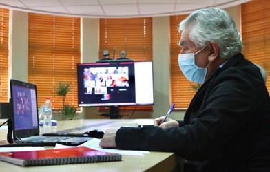 Representante de Colmevet participa en reunión con el Ministro de Salud