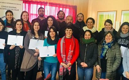 Jornada de Capacitación en Etología Clínica en Ancud