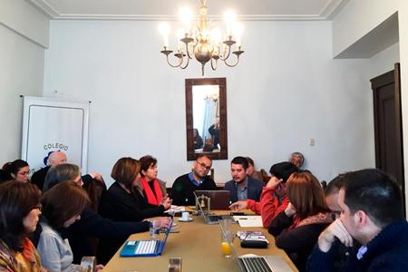 Federación de Colegios Profesionales de Chile Vientos de Cambio y Trabajo Conjunto