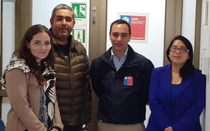 Representantes del Consejo Regional Valparaíso- Marga Marga se reúnen con Director Regional de ONEMI