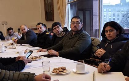 Reunión Sistema de Protección Civil en Concepción